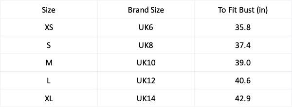 Size Chart image 0